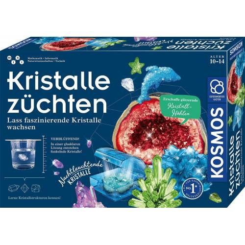 Kosmos Experimentierkasten »Kristalle züchten«, Made in Germany