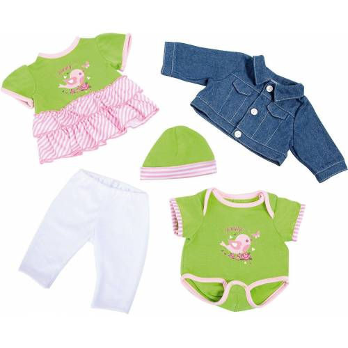 MyToys-COLLECTION Puppenkleidung »Puppenkleidung-Set Vogel, 5 tlg.«