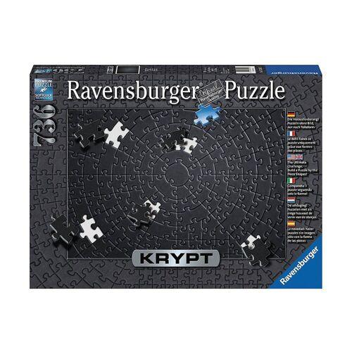 Ravensburger Puzzle »Puzzle 736 Teile, 70x50 cm, Krypt Black«, Puzzleteile