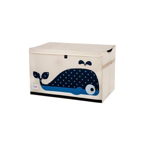 3 Sprouts Aufbewahrungsbox »Aufbewahrungskiste Krokodil, 38 x 61 cm«, blau