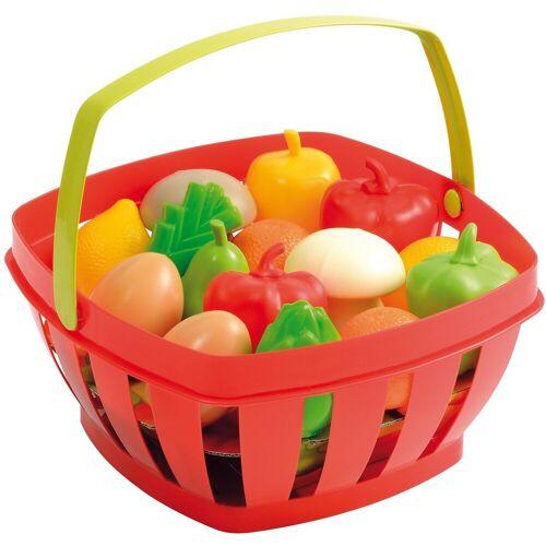 Ecoiffier Spiel-Einkaufswagen »Einkaufskorb, gefüllt«