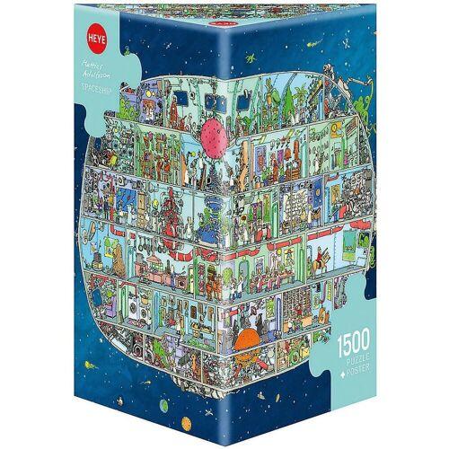 HEYE Puzzle »Puzzle Spaceship, Adolfsson, 1500 Teile«, Puzzleteile