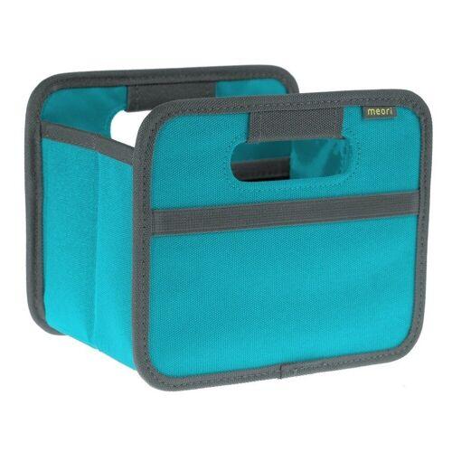Meori Faltbox »- Faltbox Mini Aufbewahrungsbox Klappbox Azur Blau A100100«