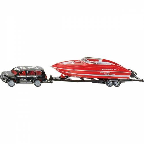 Siku Spielzeug-Auto »2543 PKW mit Motorboot 1:55«