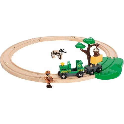 Brio Spielzeugeisenbahn-Set »Safari Bahn Set«