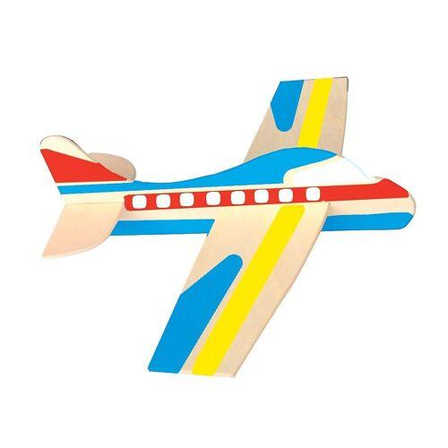 Playbox Holzbaukasten »Holz-Modellflugzeuge zum Bemalen, 12 Stück«