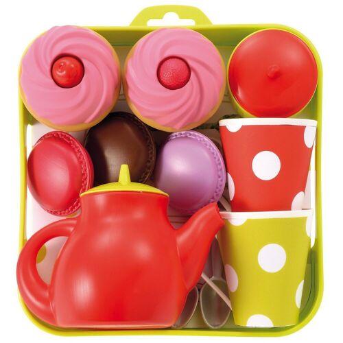 Ecoiffier Spielgeschirr »Tee-Set Tablett mit Cupcakes Spielgeschirr«