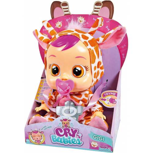 IMC TOYS Babypuppe »CryBabies LEA Funktionspuppe«, lila