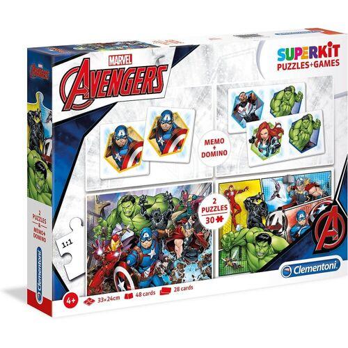 Clementoni® Puzzle »Spiele & Puzzle Superkit - The Avengers«, Puzzleteile