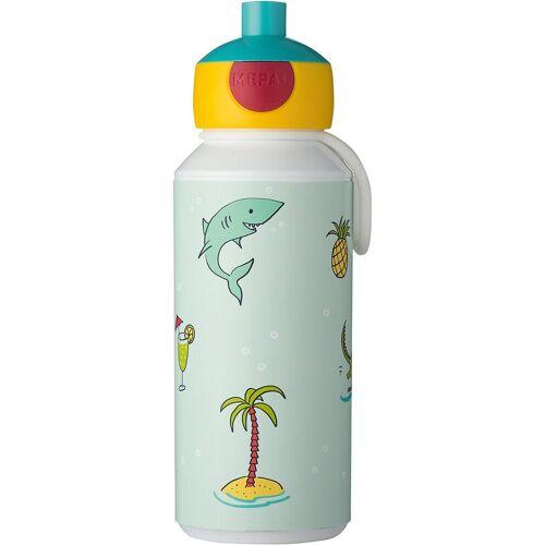 Rosti Mepal Trinkflasche »Mepal Trinkflasche pop-up campus Doodle, 400 ml«, grün