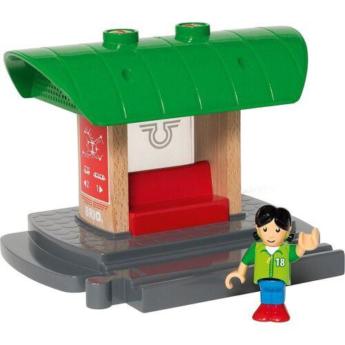 Brio Spielzeug-Eisenbahn »Bahnhof mit Aufnahmefunktion«