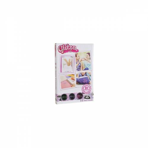 Knorrtoys® Schmuck-Tattoo »Glitza Tattoo Set«