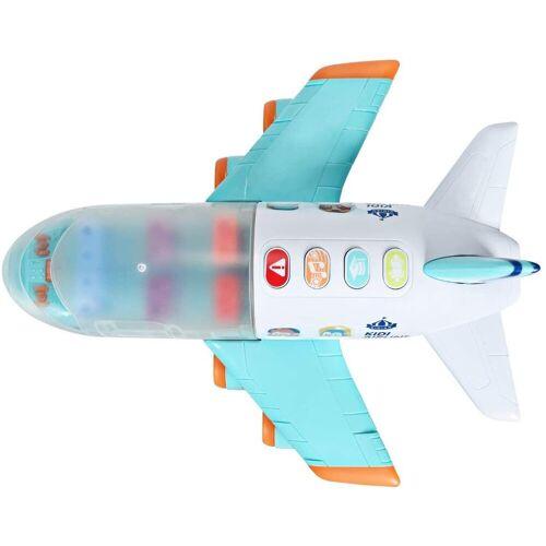 COSTWAY Spielzeug-Flugzeug »Babyspielzeug Flugzeug Passagierflugzeug«, mit Licht und Musik