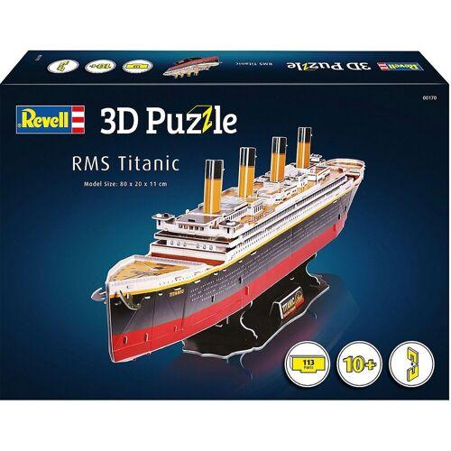 Revell® 3D-Puzzle »3D-Puzzle RMS Titanic, 113 Teile«, Puzzleteile