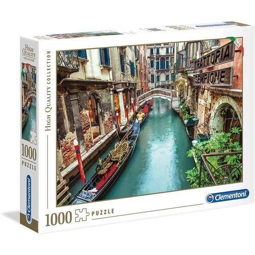 Clementoni® Puzzle »Clementoni - Venice Canal, 1000 Teile Puzzle«, 1000 Puzzleteile