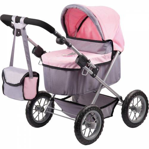 Bayer Puppenwagen »Puppenwagen Trendy rosa«