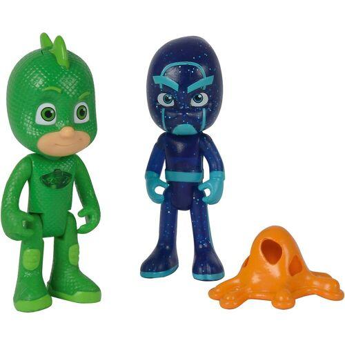 SIMBA Actionfigur »PJ Masks Figuren Set Gecko+Ninja«