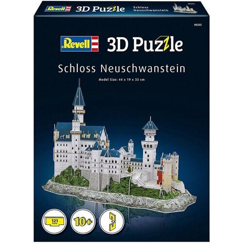 Revell® 3D-Puzzle »3D-Puzzle Schloss Neuschwanstein, 121 Teile«, Puzzleteile