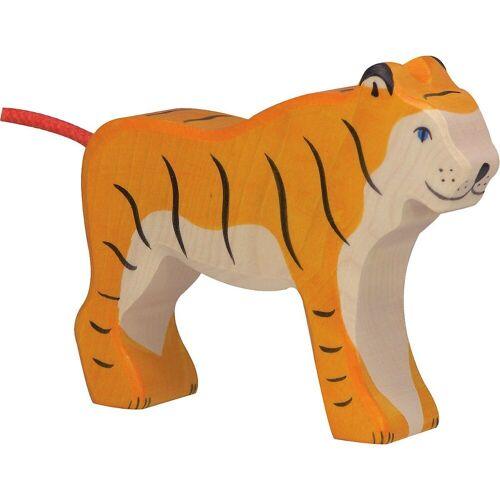 Holztiger Sammelfigur »Tiger, stehend«