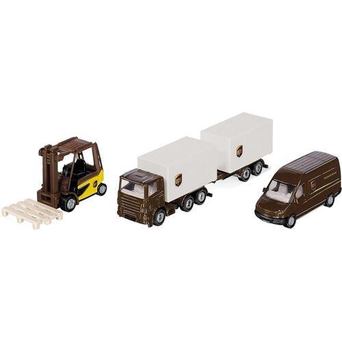 Siku Spielzeug-Auto »UPS Logistik Set«