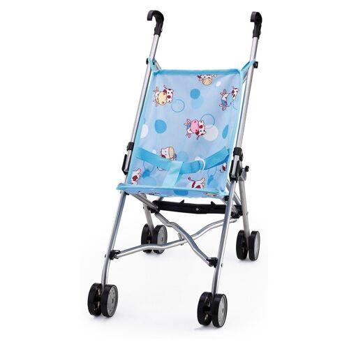 Bayer Puppenwagen »Puppenwagen Buggy blue muh«