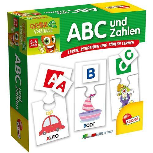 Lisciani Lernspielzeug »ABC und Zahlen«