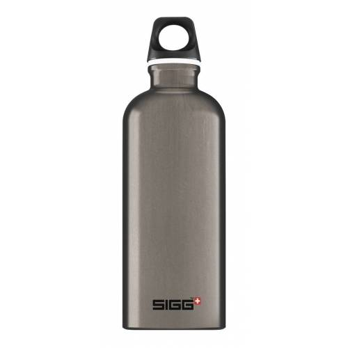 Sigg Trinkflasche »Alutrinkflasche 'Traveller'«, smoked pearl