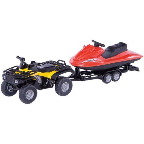 Siku Spielzeug-Auto »2314 Quad mit Jet-Ski 1:55«