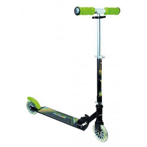 "Muuwmi Einrad »Scooter NEON Aluminium 5"" grün/schwarz,125m«, 1 Gang"