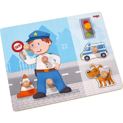 Haba Steckpuzzle »Greifpuzzle Polizeieinsatz«, Puzzleteile