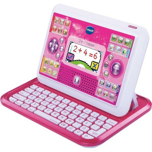 Vtech® Lerntablet »2-in-1 Tablet & Laptop, pink«, altrosa