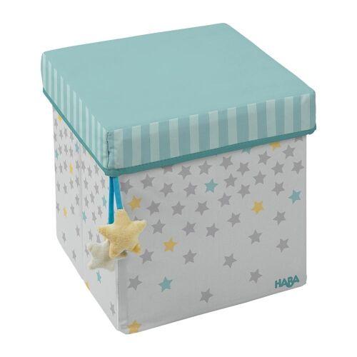 Haba Aufbewahrungsbox »Sitzwürfel Sternenhimmel«