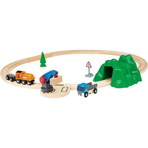 Brio Spielzeugeisenbahn-Set »Starterset Güterzug mit Kran A«
