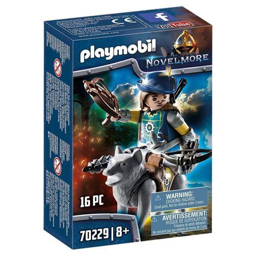 Playmobil Spielfigur »70229 - Novelmore - Armbrustschütze mit Wolf«