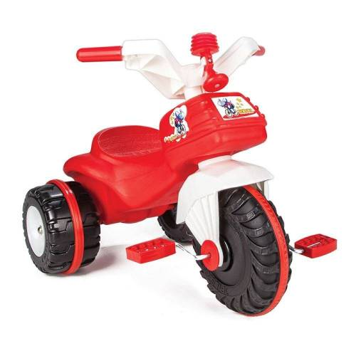 Pilsan Dreirad »Dreirad Bidik Bike 07119«, rot aus Kunststoff mit Pedale und Hupe