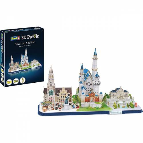 Revell® 3D-Puzzle »3D-Puzzle Bayern Skyline«, Puzzleteile