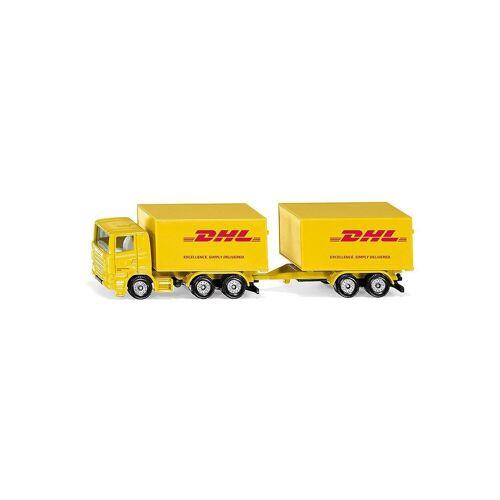 Siku Spielzeug-Auto »LKW mit Anhänger DHL«