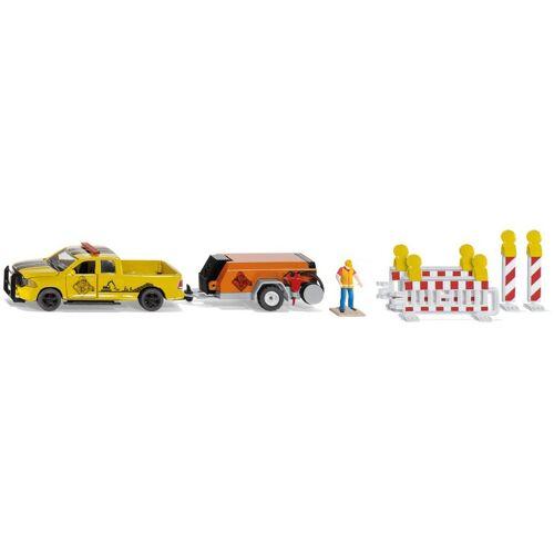 Siku Spielzeug-Auto »Super, RAM 1500 mit Kompressoranhänger«