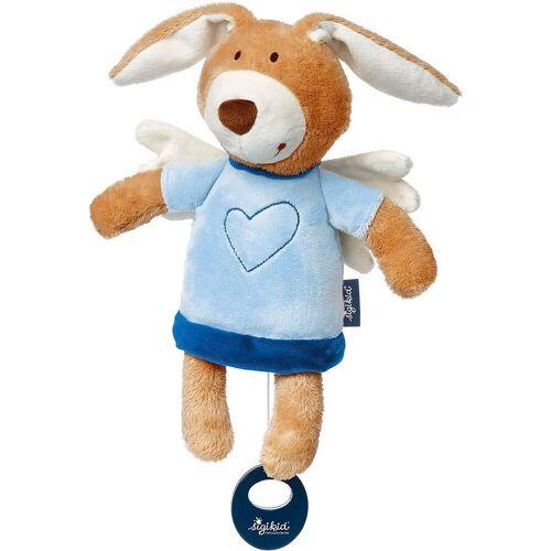 Sigikid Spieluhr »Spieluhr Schutzengel Hase blue«