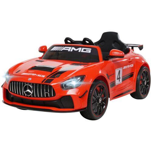 Actionbikes Motors Spielzeug-Auto »Kinder Elektroauto Mercedes Benz AMG GT4«, inkl. Fernbedienung, Rot