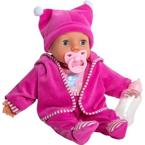 myToys Babypuppe »Babypuppe Mara violett, 38 cm«