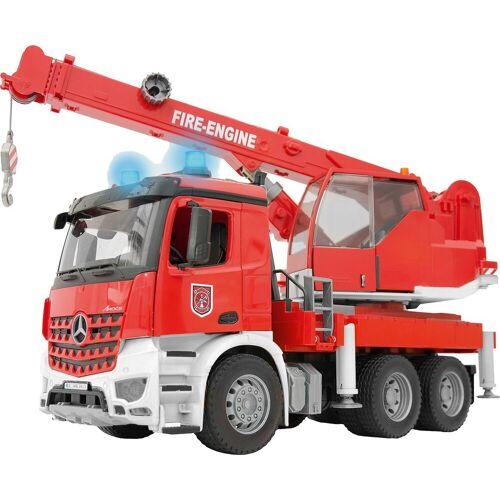 Bruder® Modellauto »MB Arocs Feuerwehr Kran mit Light & Sound«