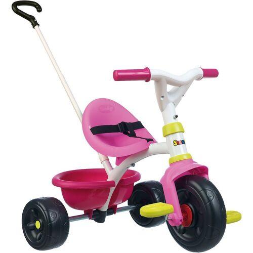 Smoby Dreirad »Dreirad Be Fun, blau«, rosa