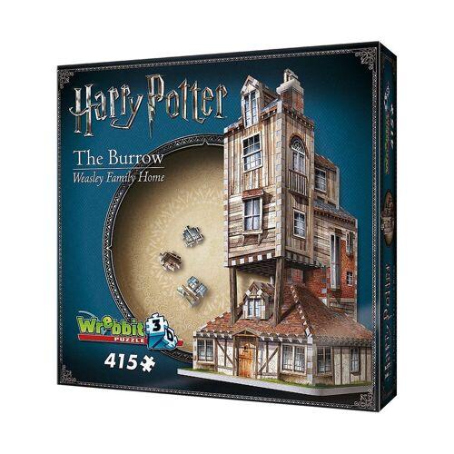 Wrebbit 3D-Puzzle »3D Puzzle 415 Teile Harry Potter Fuchsbau«, Puzzleteile