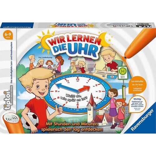 Ravensburger Lernspielzeug »tiptoi® Wir lernen die Uhr (ohne Stift)«