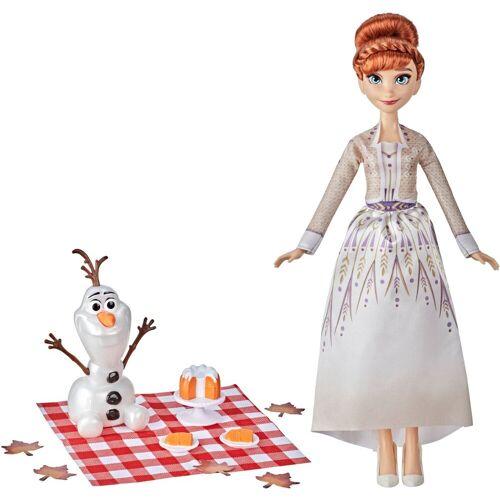 Hasbro Anziehpuppe »Disney Die Eiskönigin 2 Annas und Olafs Herbstpicknick«, mit Puppe Olaf