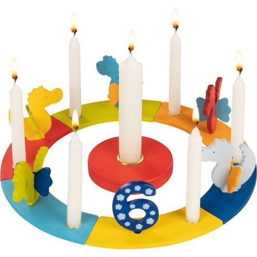 goki Kerzenhalter »Geburtstagskranz Drachen«