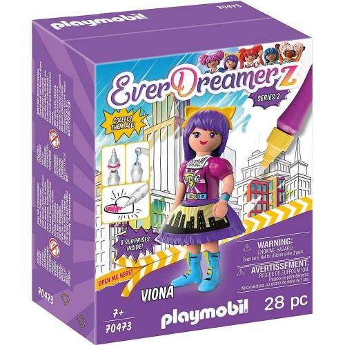 "Playmobil Spielfigur »70473 Viona ""Comic World""«"