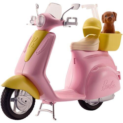 Mattel Anziehpuppe »Barbie Motorroller«