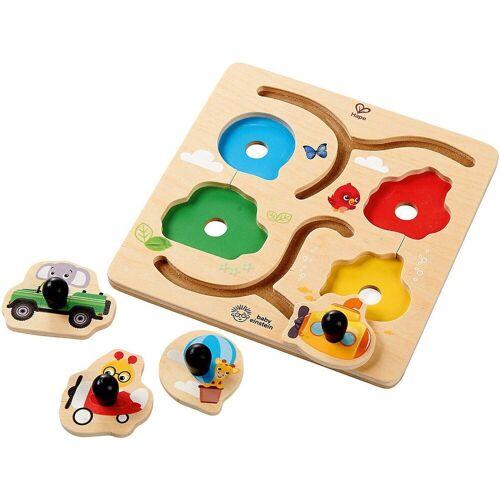 Hape Steckpuzzle »Abenteuerpuzzle«, Puzzleteile